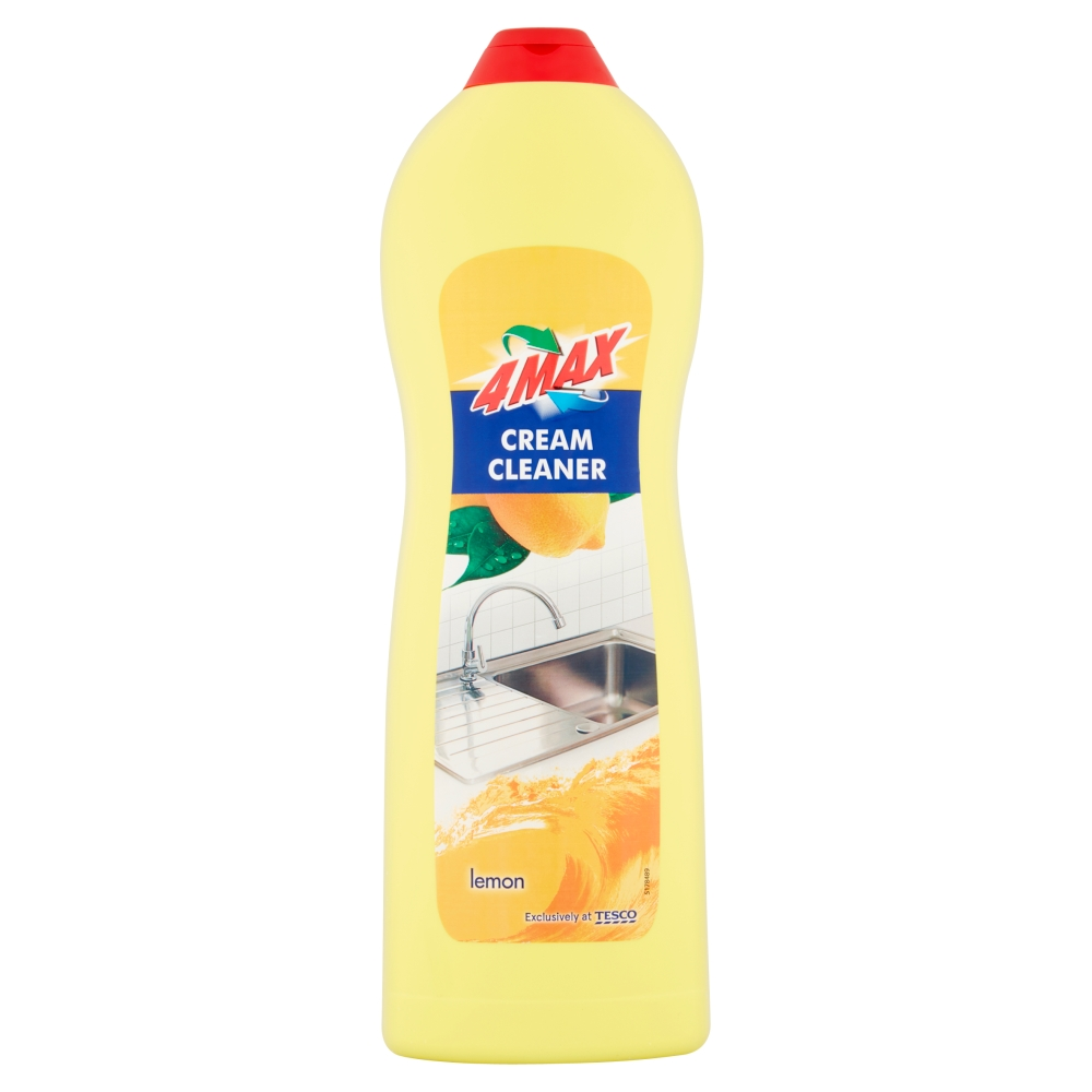 4MAX Cream Cleaner Lemon 1L